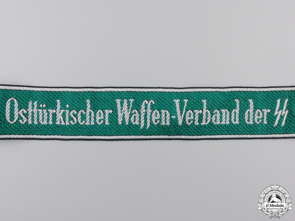 A Osttürkischer Waffen-Verband der SS Cufftitle