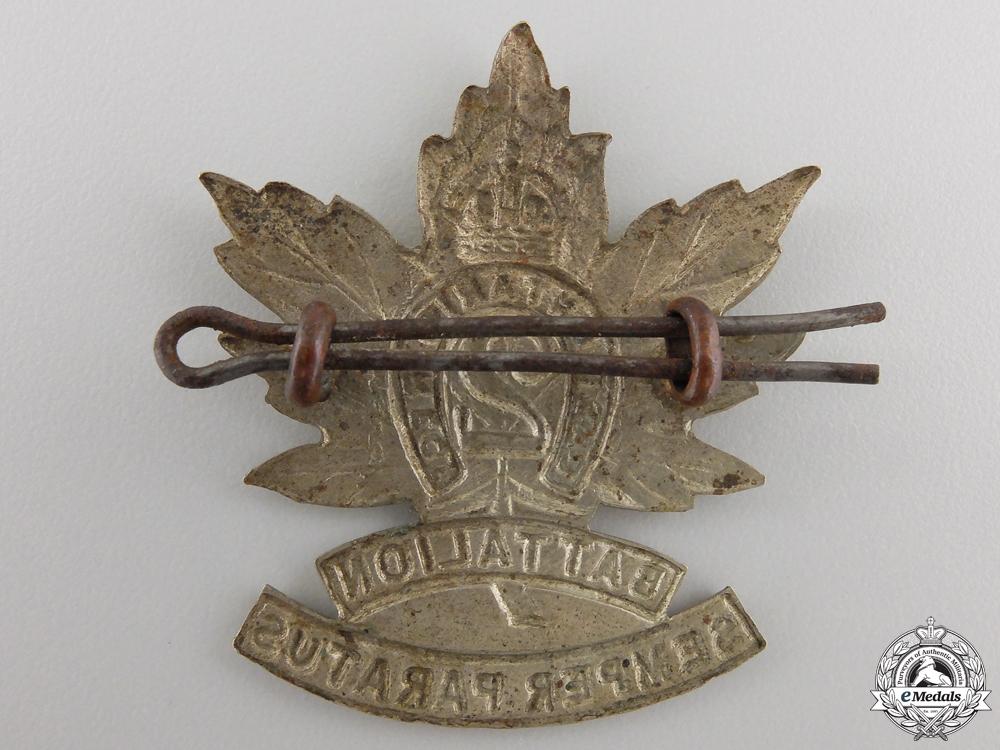 """A First War 2nd Battalion """"East Ontario Regiment"""" Cap Badge"""