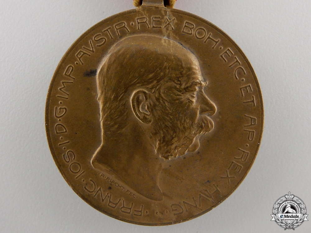 An 1908 Austrian Bosnia Commemorative Medal