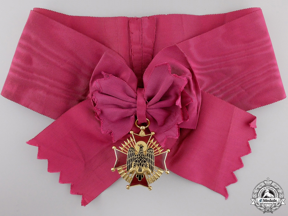 A Spanish Order of Cisneros; Grand Cross