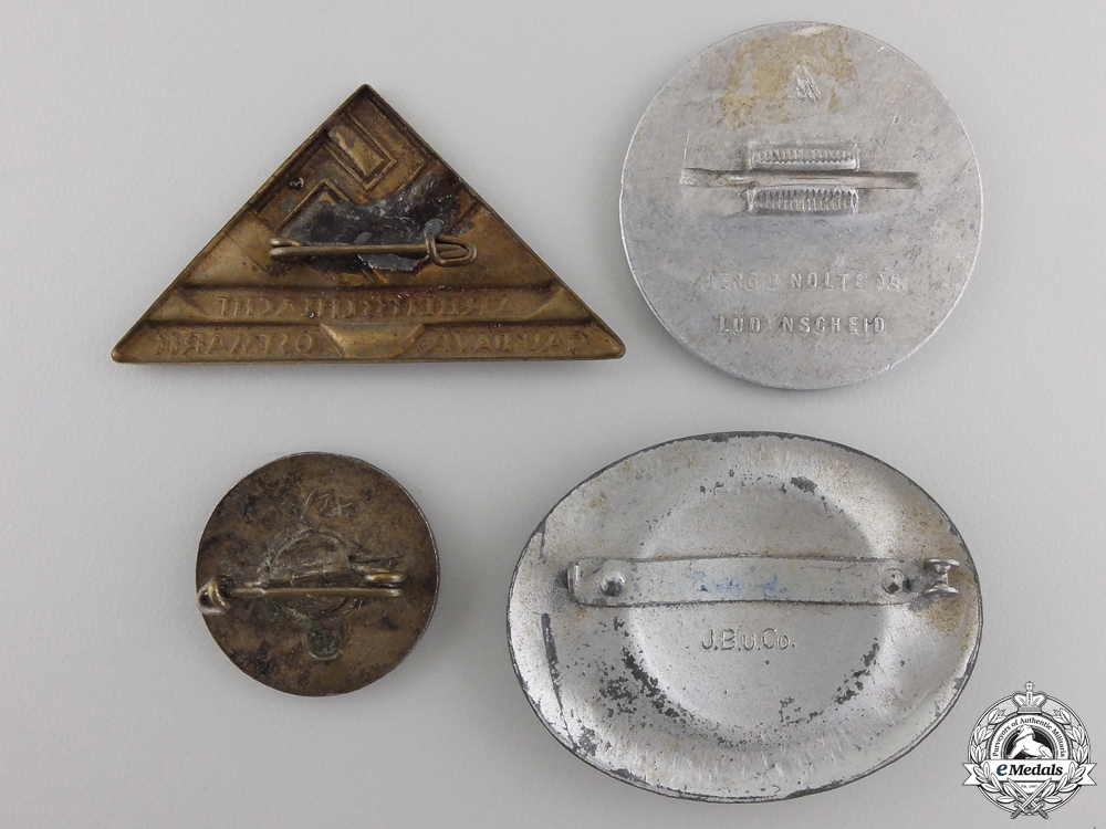 A Lot of Four Second War German Badges