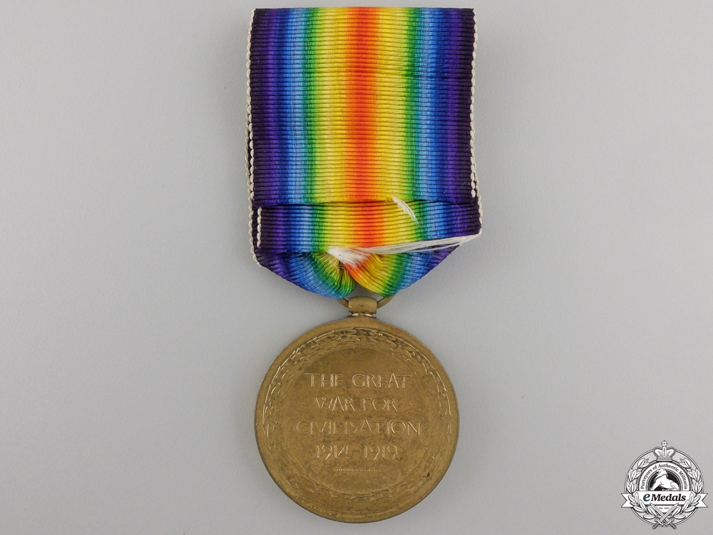 A First War Victory Medal to the Royal Garrison Artillery