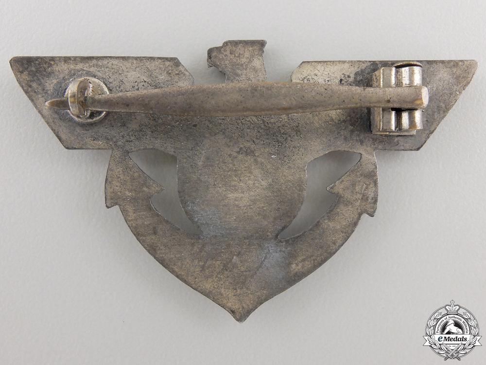A Scarce 1936 Marine SA Sachsen Badge