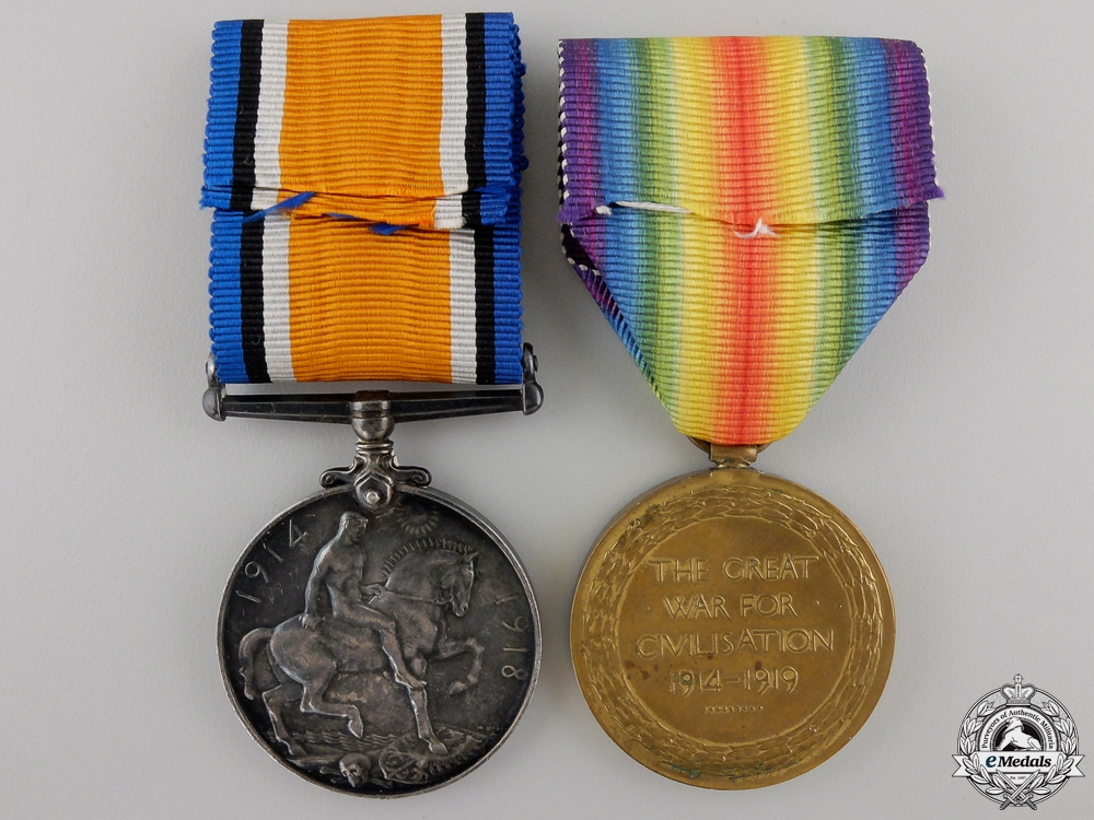 A First War Pair to the Royal Artillery