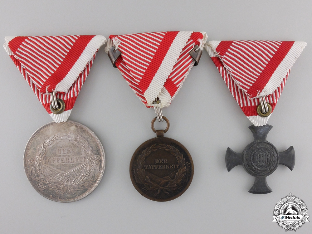 An Austrian Group of Three Awards
