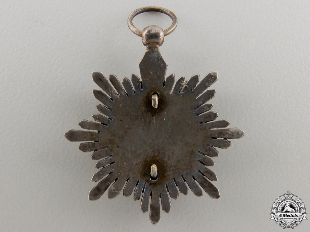 A Miniature Spanish Order of Military Merit