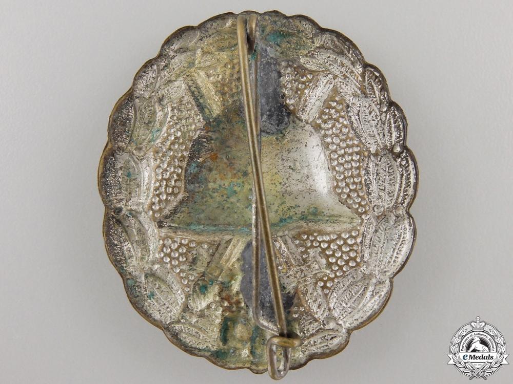 A First War German Wound Badge; Silver Grade