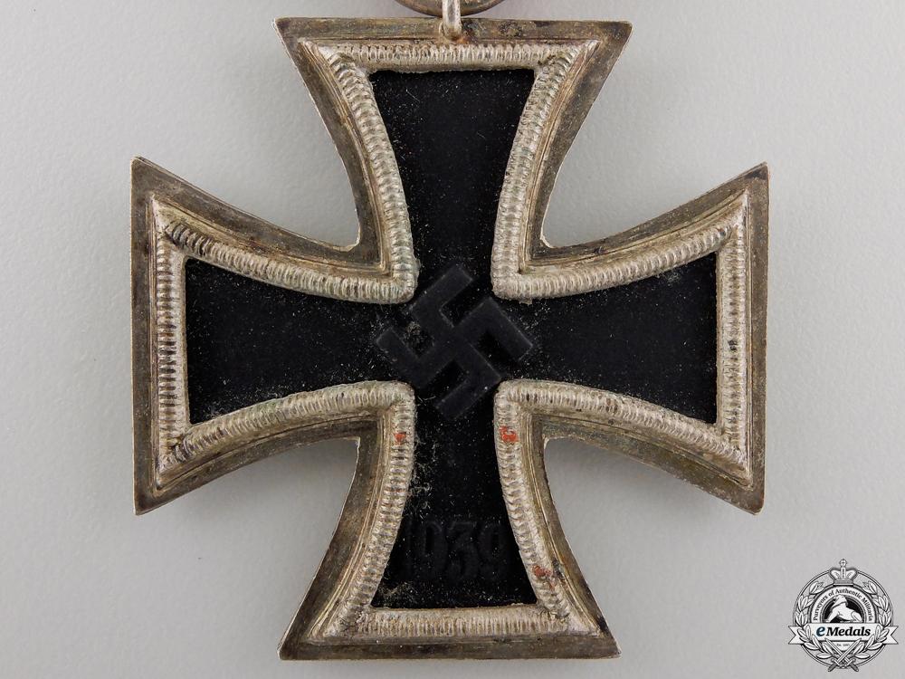 An Iron Cross Second Class 1939 by J.E. Hammer & Söhne
