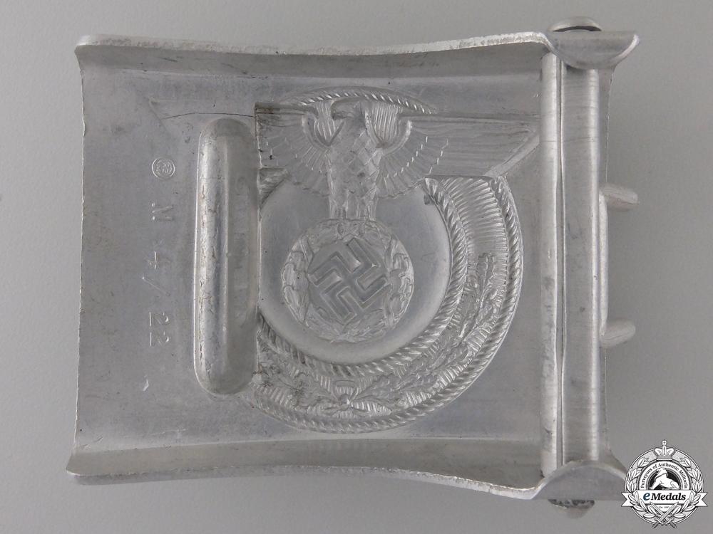 A Scarce SA Wehrmannschaft Belt Buckle by Christian Theodor Dicke