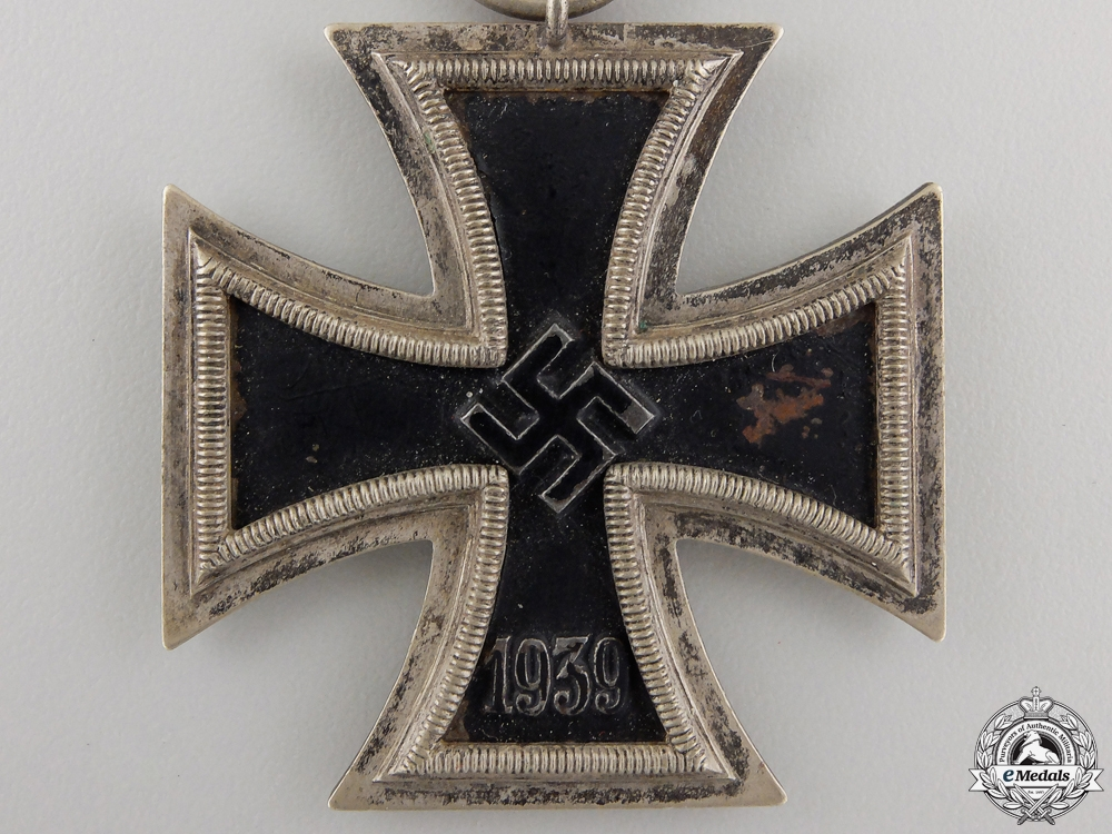 An Iron Cross Second War Class 1939 by Ernst L. Müller