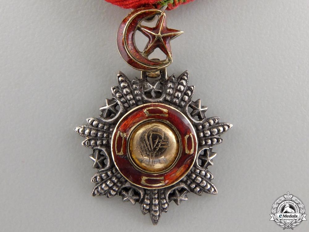 A Fine Miniature Turkish Order of Medjidie