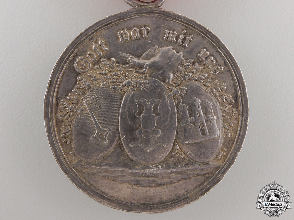 A Hanseatic Cities Napoleonic Campaigns Medal