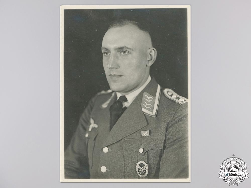Two Original War Time Luftwaffe Related Photos