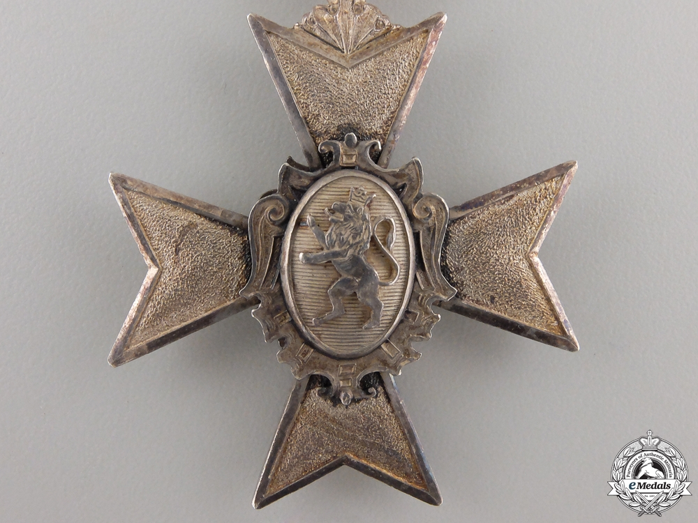 A Schwarzburg-Sondershausen Honour Cross; Fourth Class