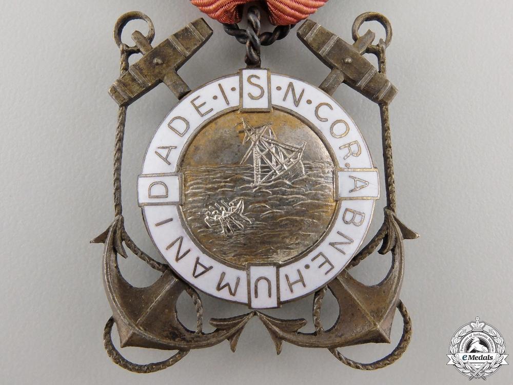 A Portuguese Life Saving Merit Award