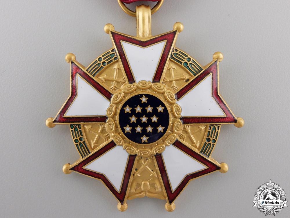 An American Legion of Merit; Legionnaire Grade with Oak Cluster