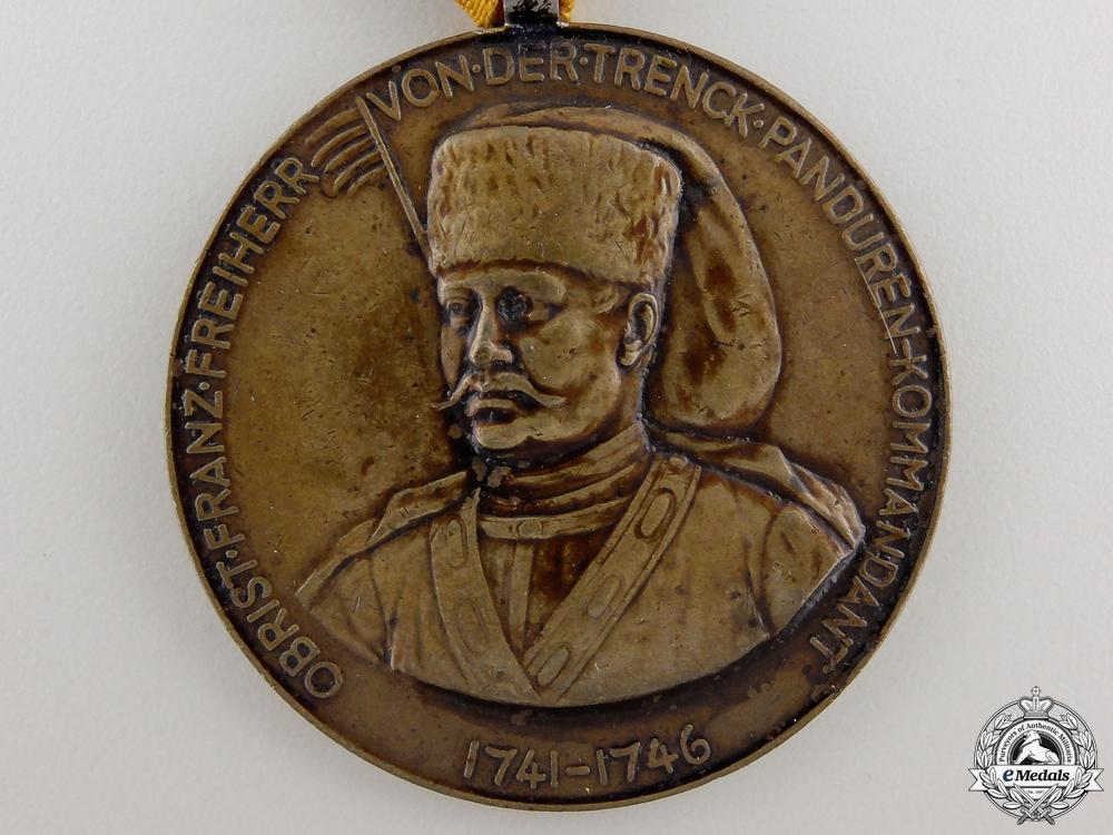A First War Croatian 53rd Regiment Trenk's Medal
