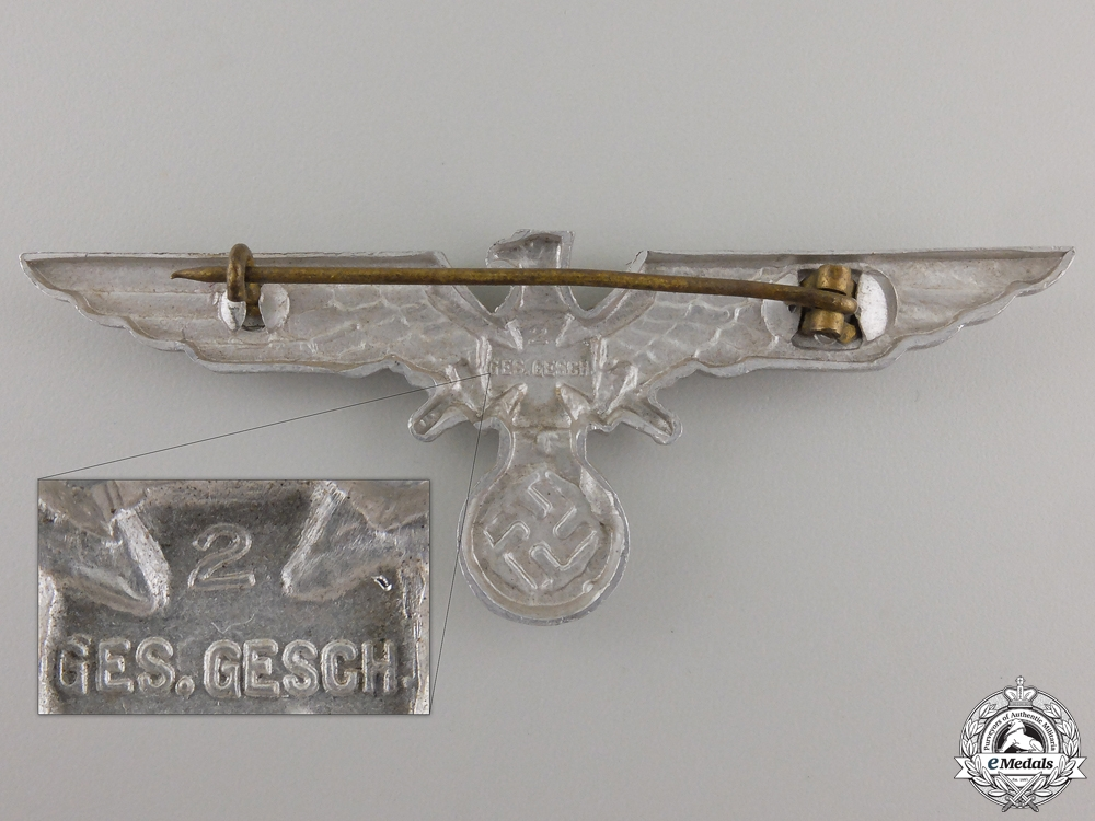 A German Veteran's Association (Deutscher Kriegerbund) Eagle; Type I