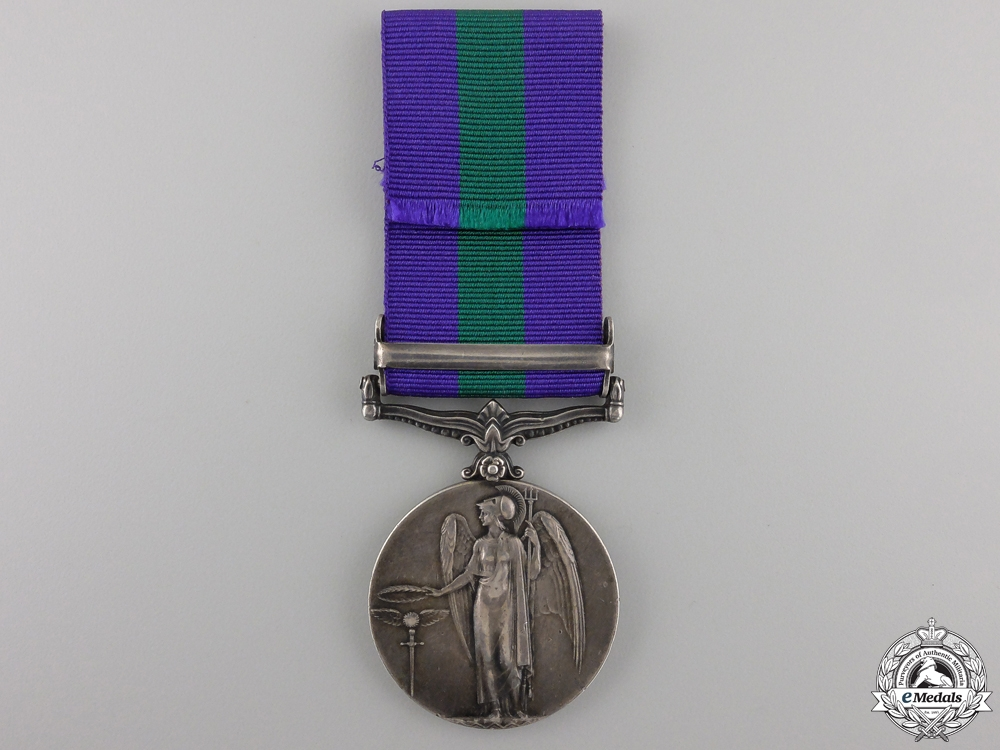 A General Service Medal 1918-1962 to the Assyrian Battalion