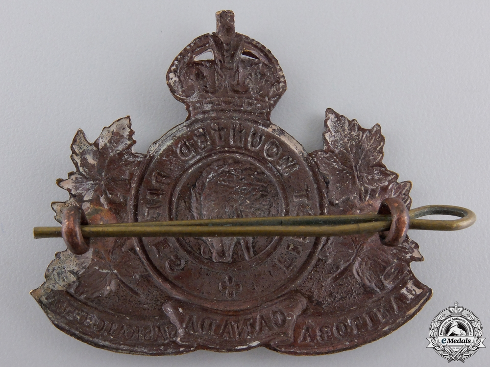 A First War 1st Mounted Rifle Battalion Cap Badge