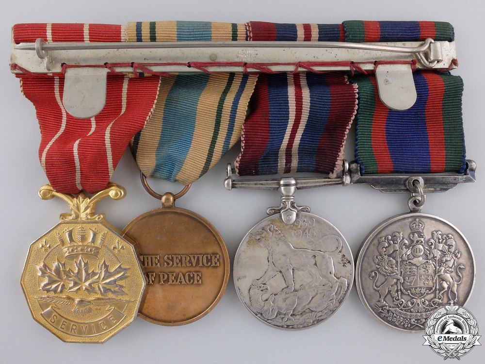 A Second War and United Nations Canadian Medal Group