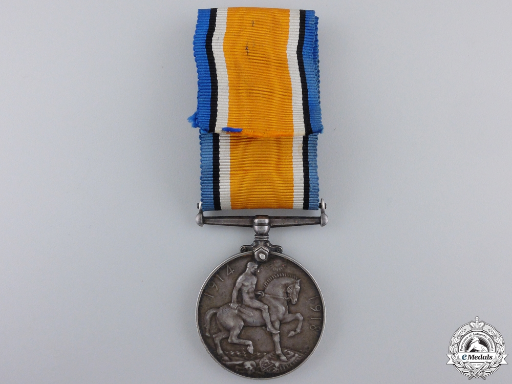A 1914-1918 War Medal to the 50th Canadian Infantry Battalion KIA