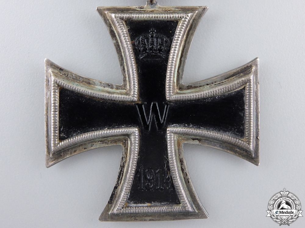 An Iron Cross Second Class 1914; Marked KO
