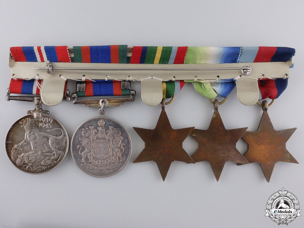 A Second War Canadian Pacific Theatre Naval Medal Group