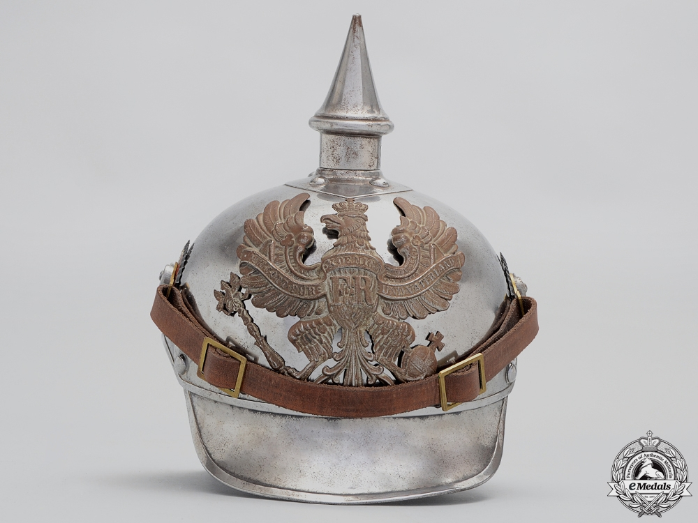 An M15 Cuirassiers Lobster Tail Pickelhaube by Juncker