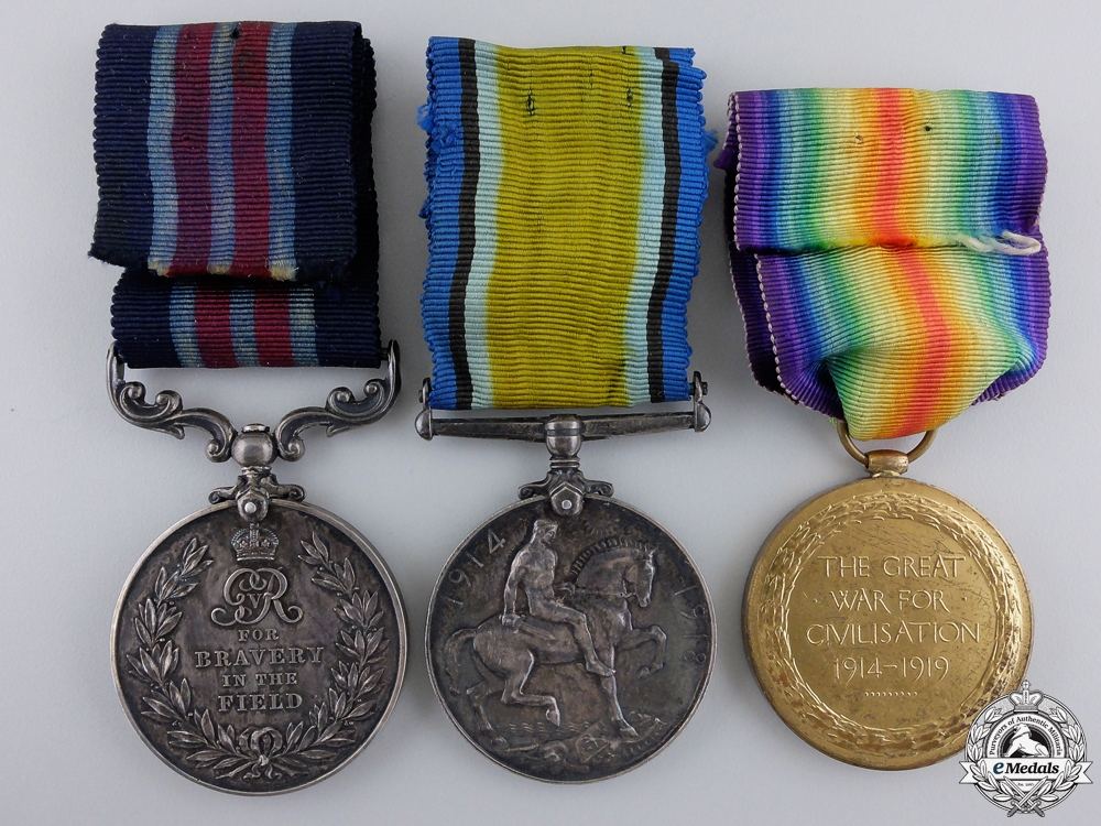 A Canadian Military Medal for Lewis Gun Action at Passchendaele