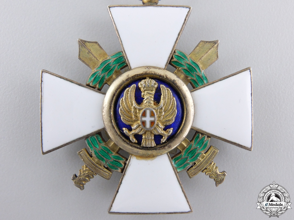 An Italian Order of the Roman Eagle, Knight; Military 1942-1943
