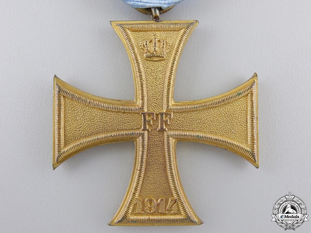 A First War 1914 Mecklenburg War Cross; Second Class
