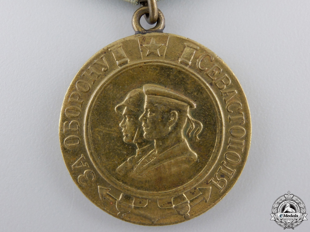 A Soviet Medal for the Defence of Sevastopol