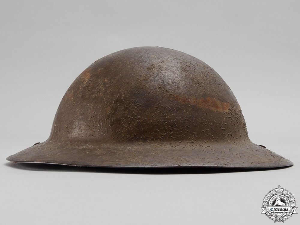 A First War Mark II 22nd Infantry Battalion; 2nd Division Helmet