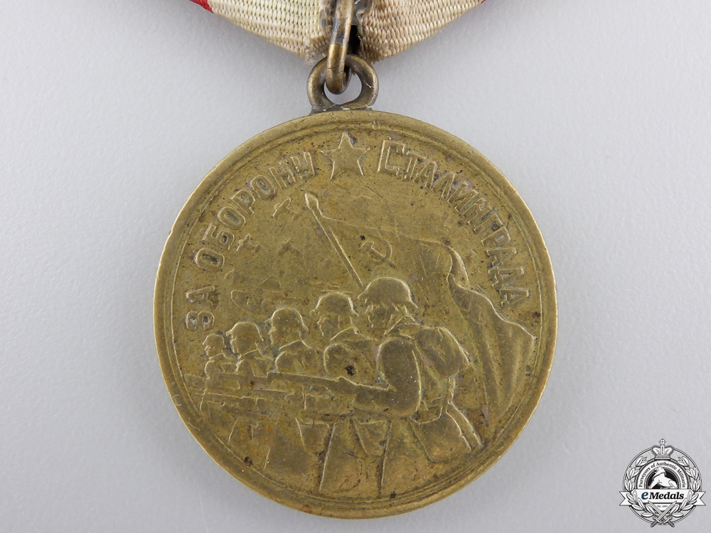 A Soviet Medal for the Defence of Stalingrad