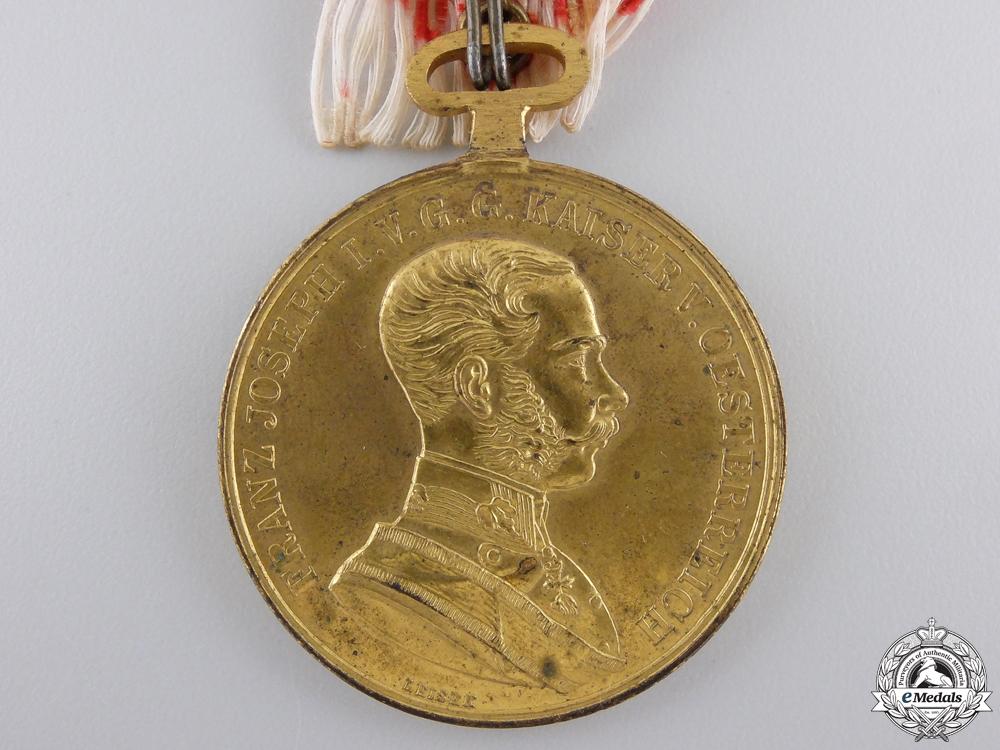 A First War Austrian Golden Bravery Medal