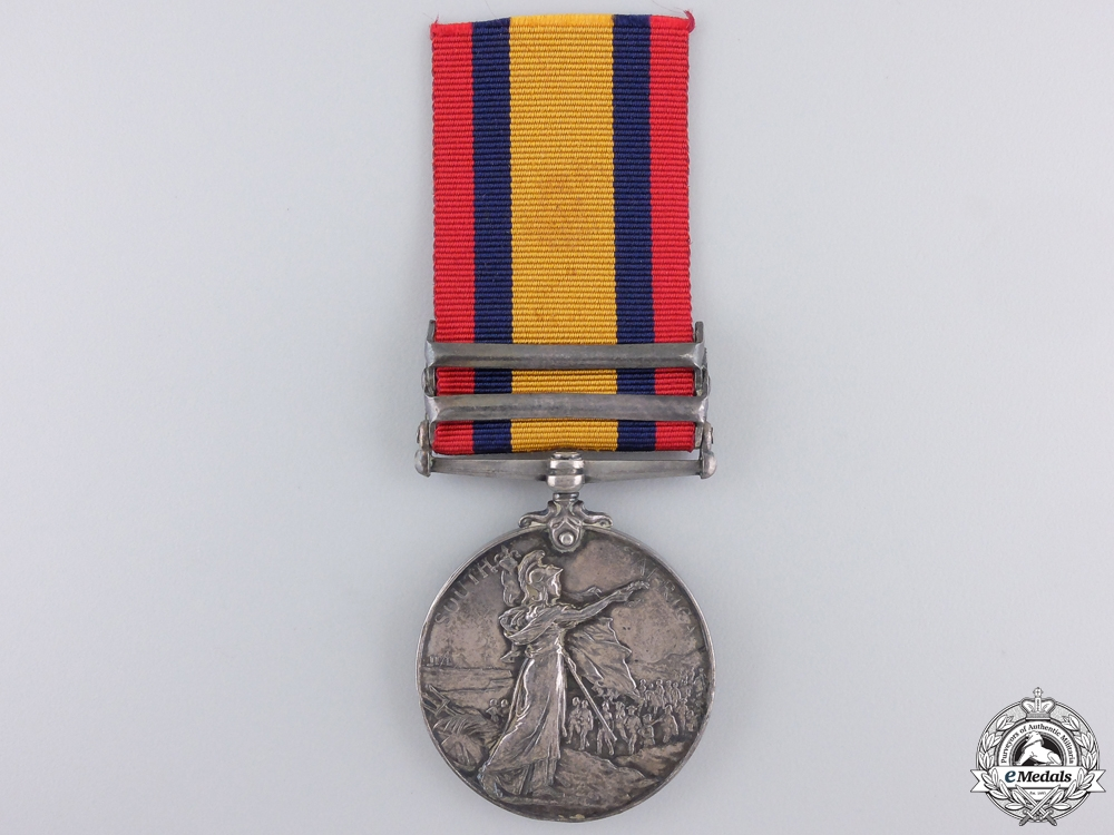 A Queen's South Africa Medal to the Royal Engineers