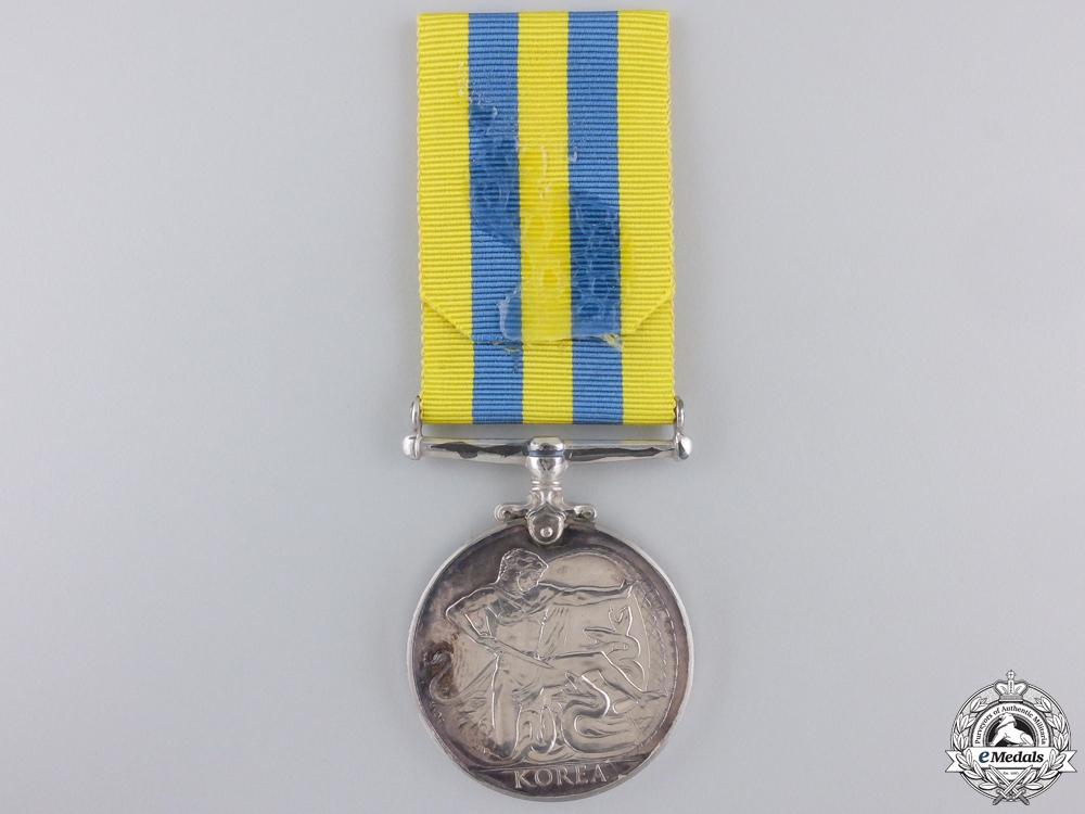 A 1950-53 Korea Medal; Unnamed