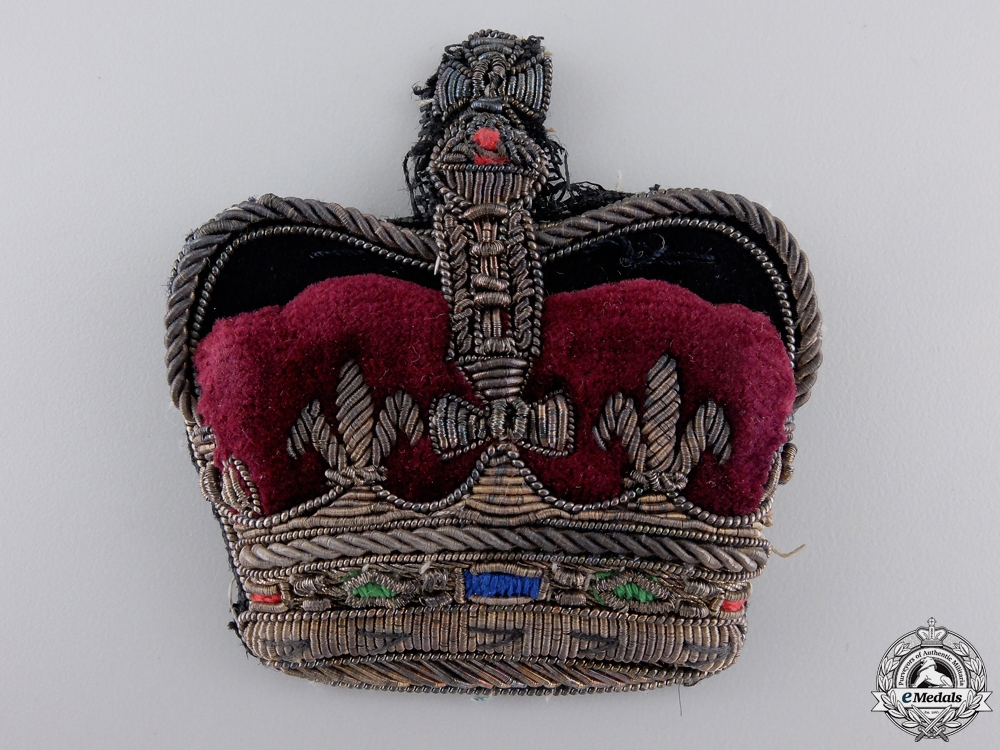 A Victorian General's Uniform Insignia Set