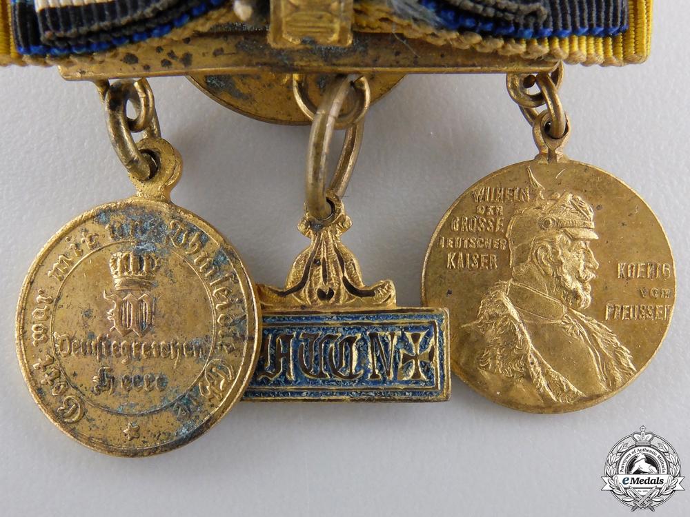 A Franco Prussian War Veteran's Miniatures