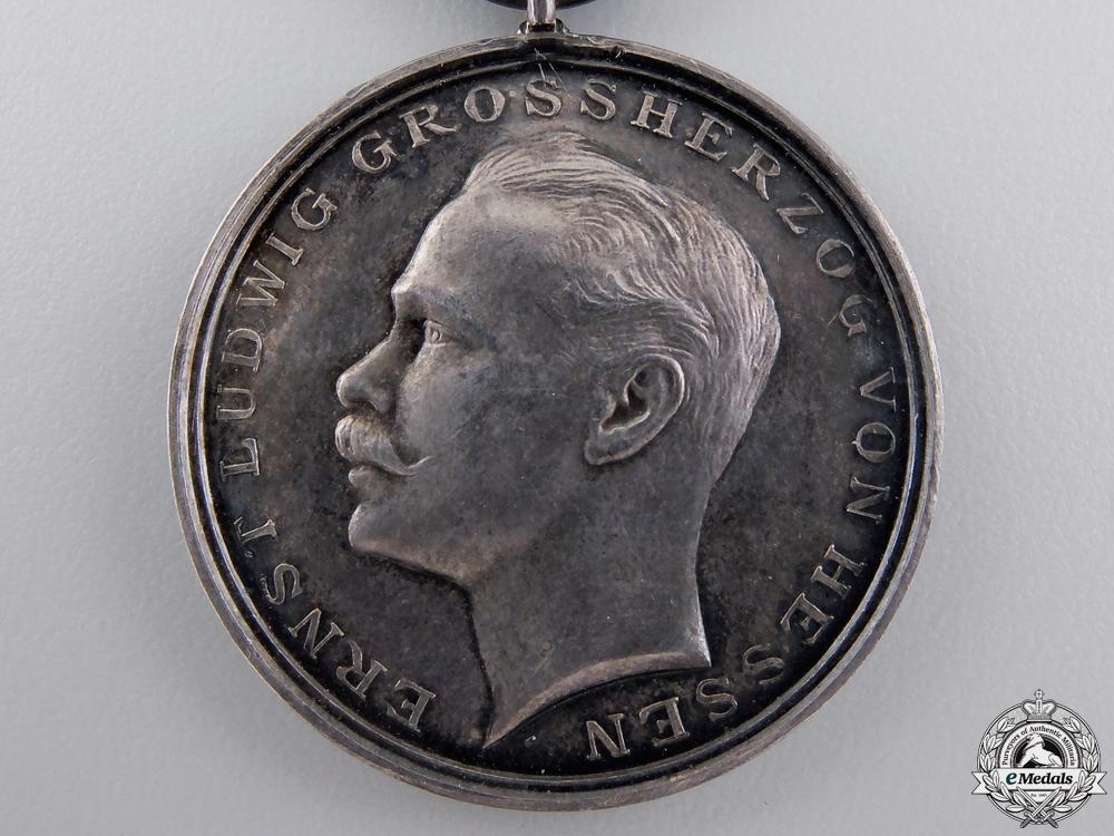 A First War Hessen Bravery Medal