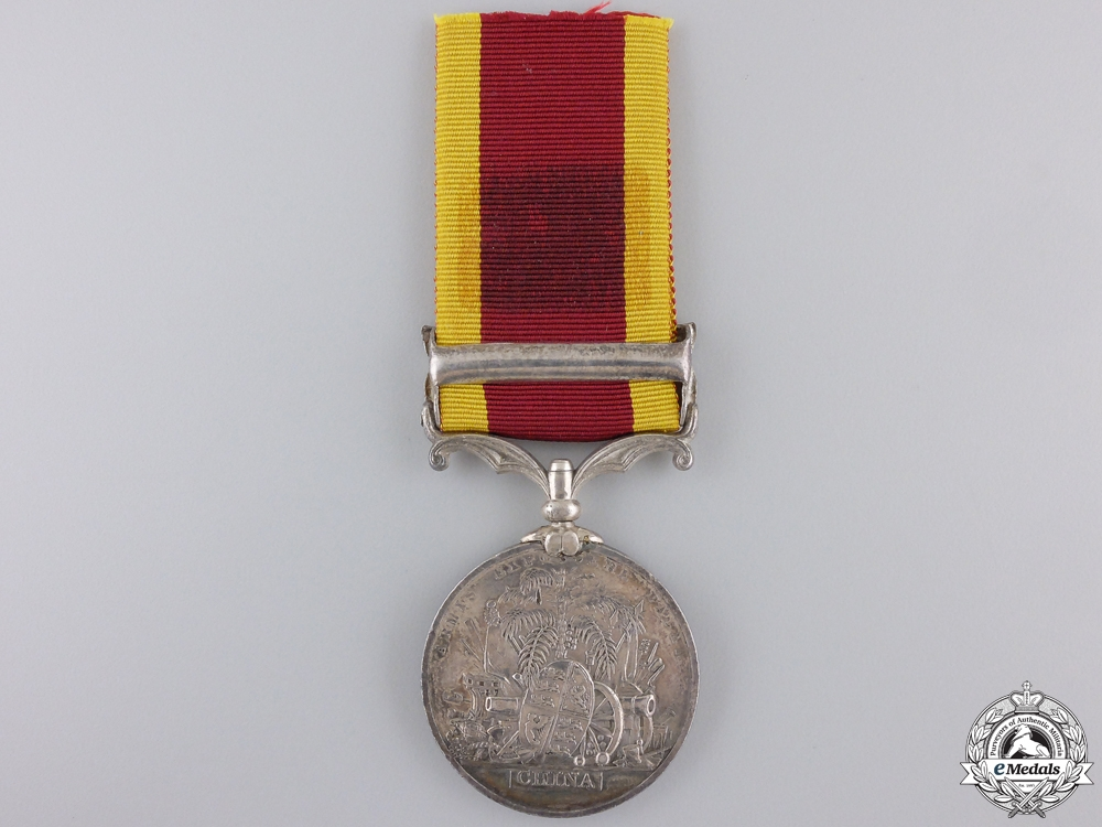 A Second China War Medal 1857-1860 for Taku Forts