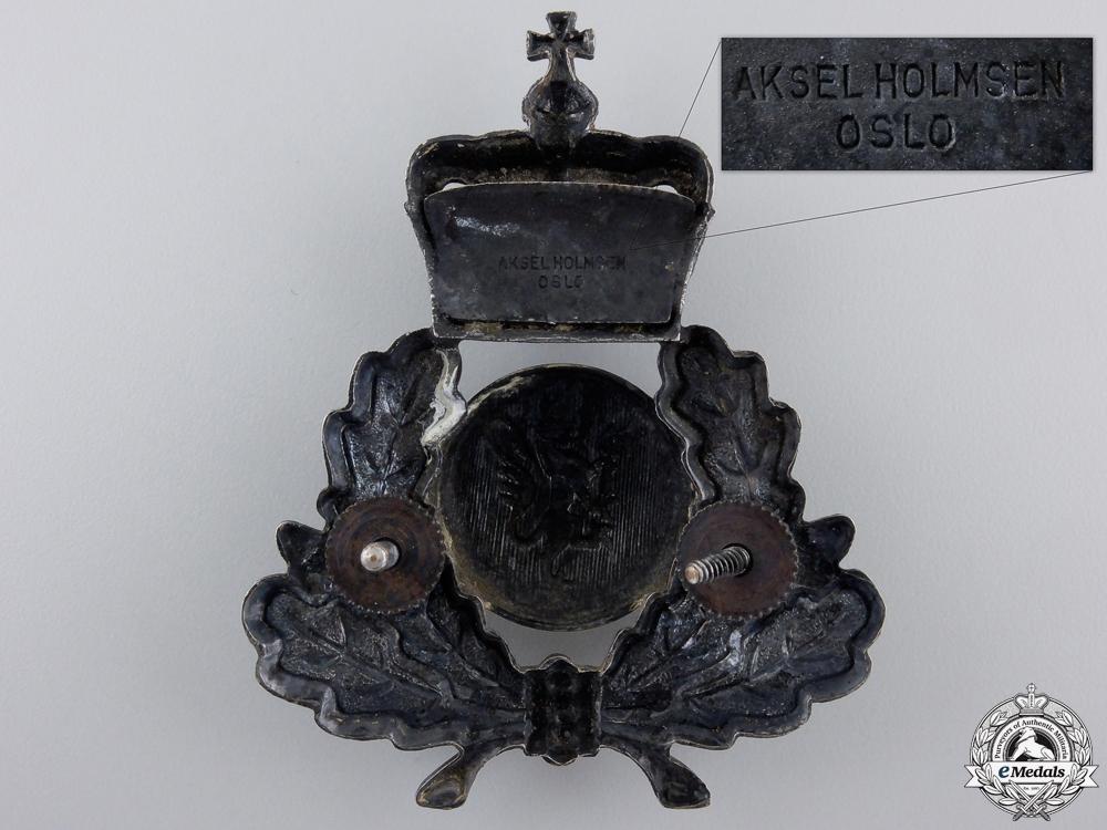 A Second War Norwegian Army Cap Badge