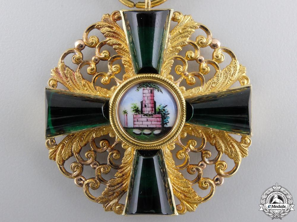 An Order of the Zähringen Lion in Gold; 1st Class Knights Cross