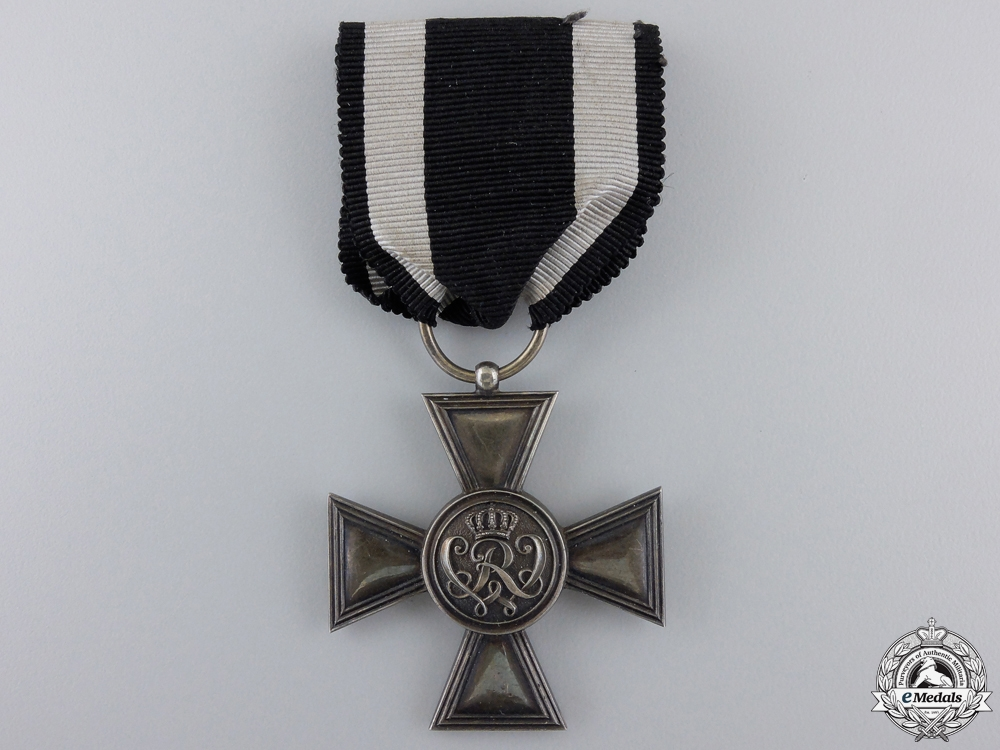 A Prussian Golden Military Merit Cross by Wagner with Case