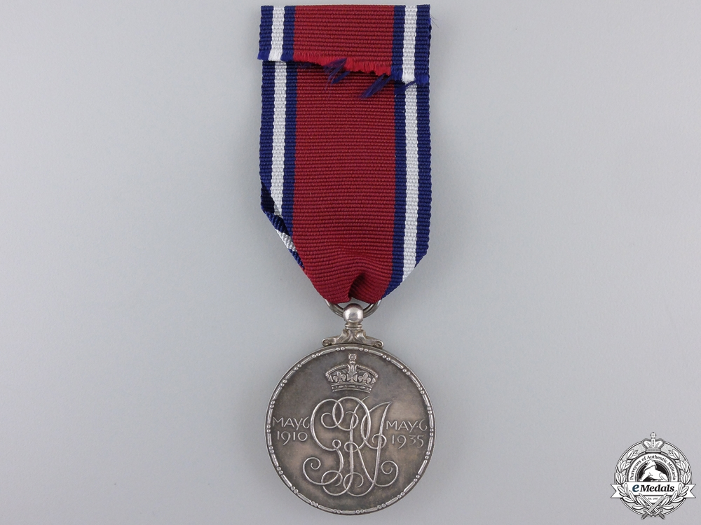 A 1935 George V Jubilee Medal to S.Woodhouse