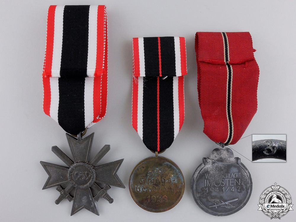 Three Second War German Medals & Awards