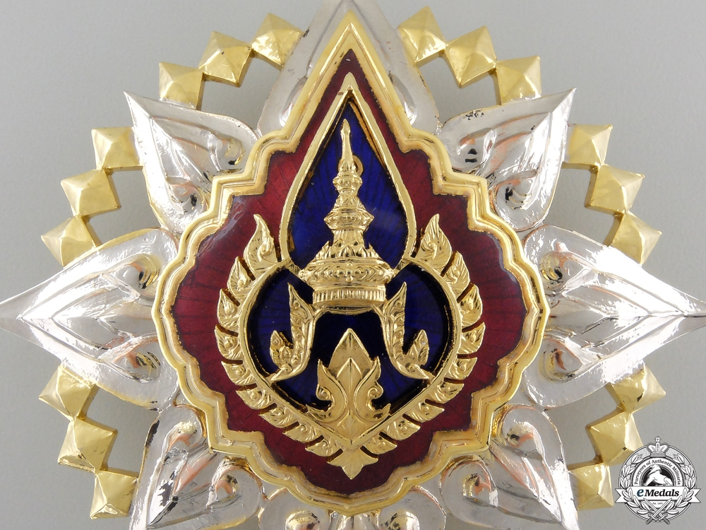 An Order of the Crown of Thailand; Grand Cross Star