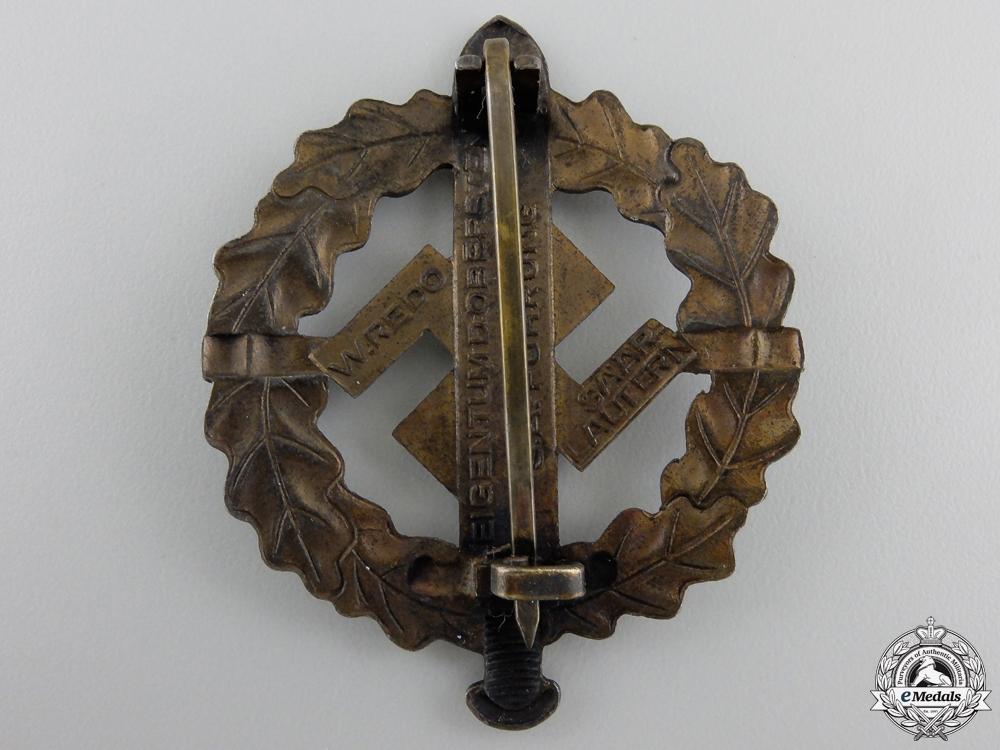 An SA Defense Badge; Type I by W.Redo
