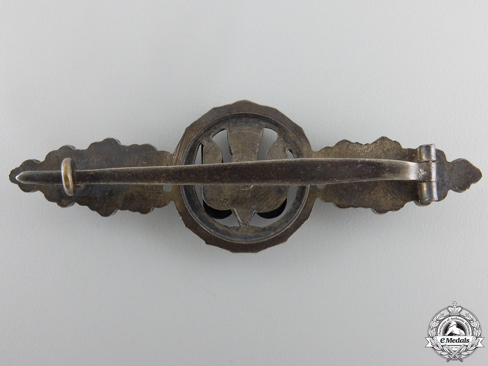 An Early Silver Grade Luftwaffe Bomber Squadron Clasp